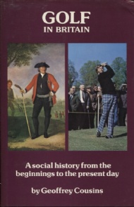 Sportboken - Golf in Britain A Social History from the Beginnings to the Present Day