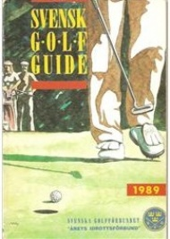 Sportboken - Svensk golf guide 1989