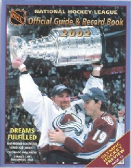 Sportboken - NHL Official Guide & Record Book 2002