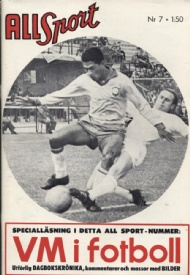 Sportboken - All Sport 1962 no. 7 VM fotboll 1962
