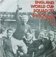 Sportboken - England World Cup Squad 70 - Back Home