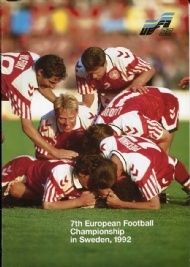Sportboken - UEFA 92 7:th European football Championship Sweden 92