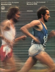 Sportboken - Programme Athletics Games of  XXI Olympiad Montreal 1976