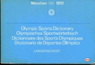 Sportboken - Olympic Sports Dictionary