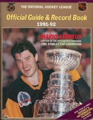 Sportboken - NHL Official Guide & Record Book 1991-92