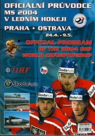 Sportboken - Official program of 2004 IIHF world championship hockey