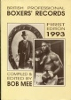British Professional Boxers Records 1993 - 250 Kr
