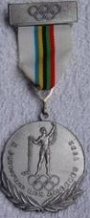 1932 Los Angeles-Lake Placid Medalj X. Olympiad Los Angels 1932
