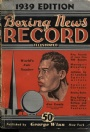 Boxning Boxing news records illustrated 1939