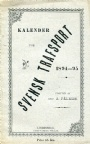 All Old Sportsbooks Kalender för Svensk Trafsport 1894-95