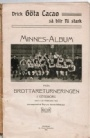 All Old Sportsbooks Minnes-Album från brottareturneringen om Europamästerskapet 1909