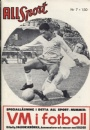 All Sport-RekordMagasinet All Sport 1962 no. 7 VM fotboll 1962