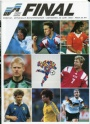 Fotboll Program Fotboll-Euro 92 Danmark-Tyskland Final