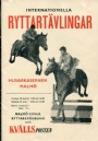 PROGRAM Internationella ryttartävlingar 1953
