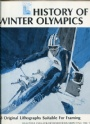 Sport-Art-Affisch-Foto History of the Winter Olympic 1980