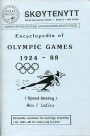 Skridsko-Skating-Figure  Sköytenytt Encyclopedia of Olympic games 1924-88