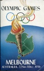 PROGRAM Olympic Games Melborne Australia 22 Nov-8 Dec 1956