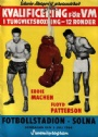 PROGRAM Eddie Machen, USA -Floyd Patterson USA